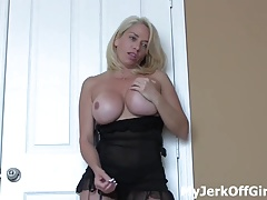 Jerk your cock to my tight schoolgirl pussy JOI