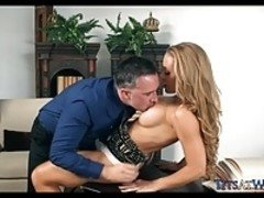 Gorgeous Blonde Sucks off Her Boss