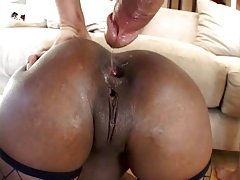 3 white male in the ass of ebony 3