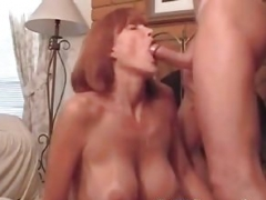 My Mom i`d like to fuck Exposed Super hot wife with love bubbles and also tan lines
