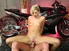 Dick riding Jessa Rhodes looks more glamorous than ever