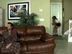 Daddy Punished Her Daughter For Being Late At