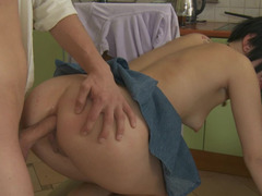 Russian couple prefers to perform anal sex right after the oral