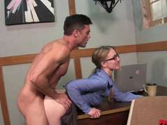 Sales Motivation with Riley Reyes getting off+masturbation Lance Hart