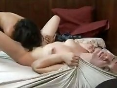 Two Lesbians in Bed