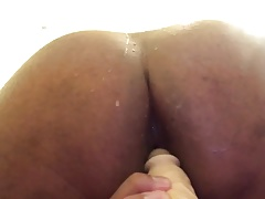 Upclose of my asshole getting fucked