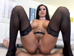 Milf LIly Lane gives you her ass in a POV anal video