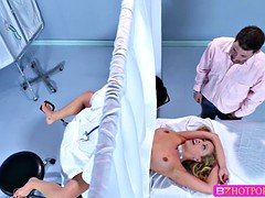 Bigtits Cherie gets fucked by hot doctor
