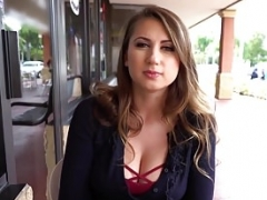 Mofos - Public Pick Ups - Shy Student Makes love for Cruise Money