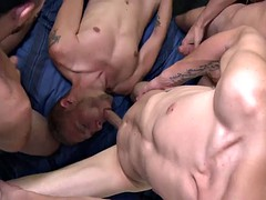 Virgin roosters group of boys college orgy