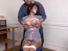 Kristine Chairtied and additionally Groped