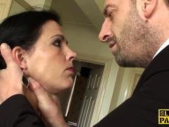 Sub housewife analy drilled by her dominator