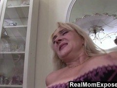 RealMomExposed - Lascivious milf gets her hairy pussy stuffed with cock