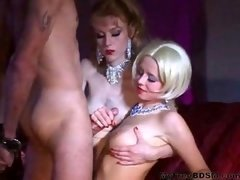 Teasing bdsm bondage slave female domination supremacy