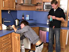 Plumber turns into a gay slut boy