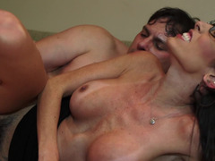 Cheating wife Dava Foxx satisfied by a fat cock fucking her