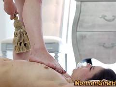 Mormon lezdomina has oral