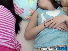 real teen jizzed at party segment