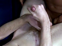Lucca horny twink sucks and beats rock coach muscular penis