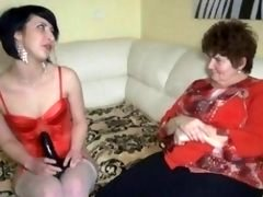 Nasty grown-up female goes mad making out