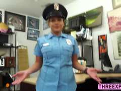 Slutty real Police woman Slutty real Police woman willing to pose nude and fucked in exchange of moneywilling to pose nude and fucked in exchange of m