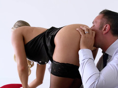 Keiran Lee gladly fucks his maid because she is good in sex