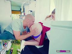 Hot Vendor Alex Blake Gets Fucked In The Food Truck