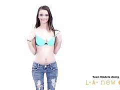 TEEN GIRL NOT HAPPY AT PHOTOSHOOT CASTING AUDITION