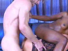 Crazy interracial threesome action in Ghostbusters XXX Parody