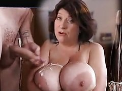 Caroline Quentin cum on big tits