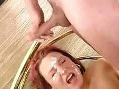 Getting fucked and bukkaked