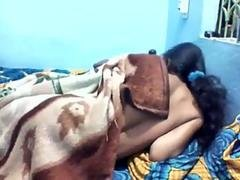 Indian desi girl fucking with boyfriend in bedroom