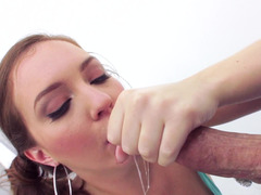 A woman that loves to get dick in her pussy is getting teased and caressed