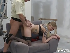 Punishing the young French teacher