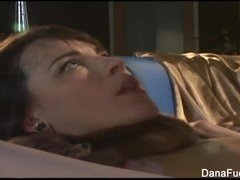 Dana DeArmond gets her pussy played with