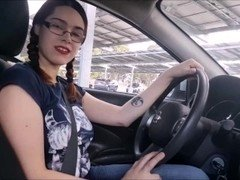 College Tutor JOI in Parking Lot
