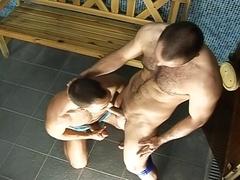 Hot Muscle Fellas Having Fun