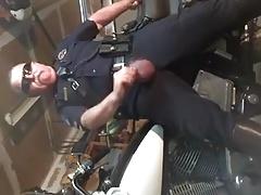 Cop Jerk Off