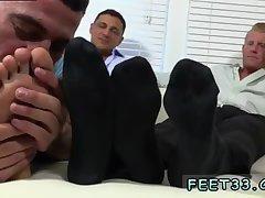 Ricky licking feet