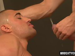 Big dick gay piss with cumshot