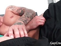 Play Boy getting boned by Roommate