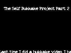 Self Bukkake #02