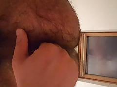Indian plays with buttplug latest