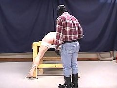 Hogtied Guy Gets Spanked & Banged