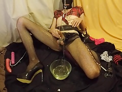 Sissy Drink and Shave