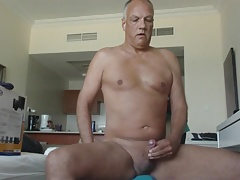 Porn actor Cane performing a nice cumshot