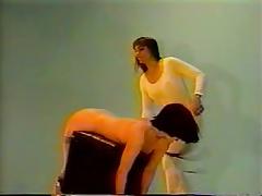 Lesbian BDSM Spanking