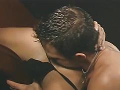 rimjob lick eating ass butt gangbang group sex threesome 3