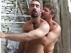 Intense fuck between a French man and a hairy Lebanese guy