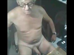Grandpa Rub naked